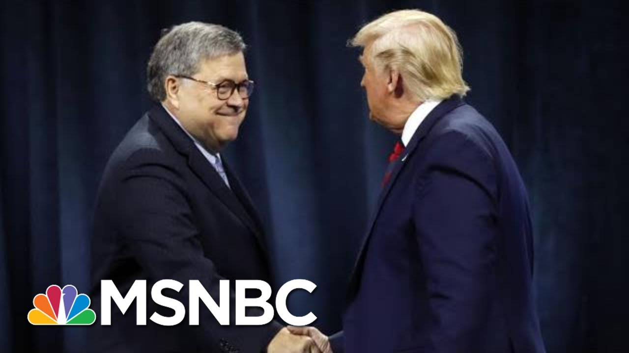 After Day One Of Impeachment Hearing, Is Barr Distancing Himself From Trump? | The 11th Hour | MSNBC 5