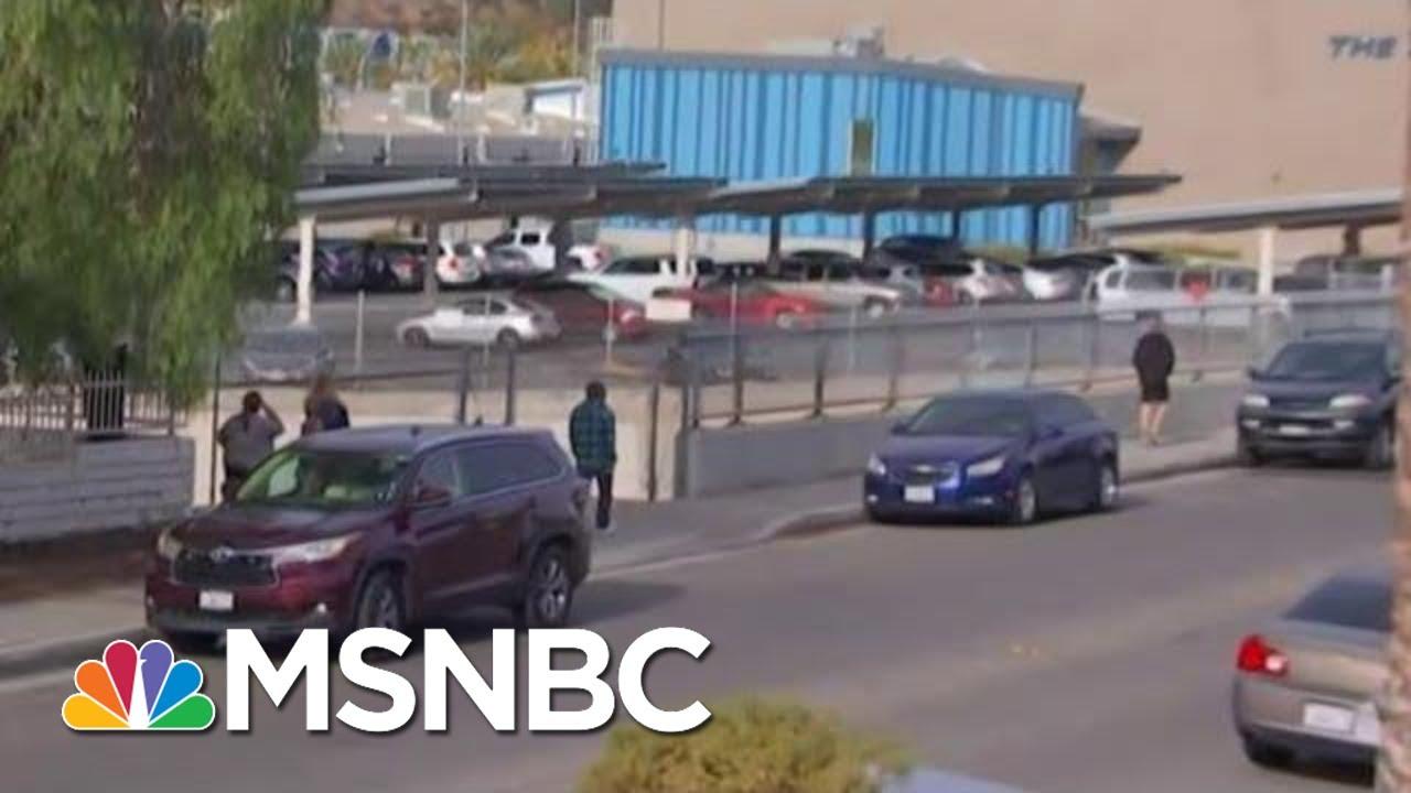 Officials Confirm Suspect Located In Santa Clarita School Shooting | MSNBC 8
