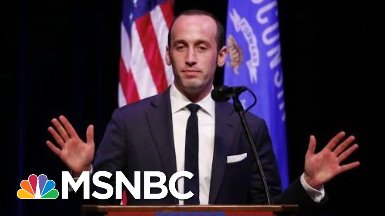 Emails Show Stephen Miller Promoted White Supremacist Content | The Last Word | MSNBC 3