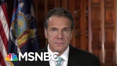 Gov. Cuomo Calls Trump's Move To Florida 'A Legal Tactic'   Velshi & Ruhle   MSNBC 2