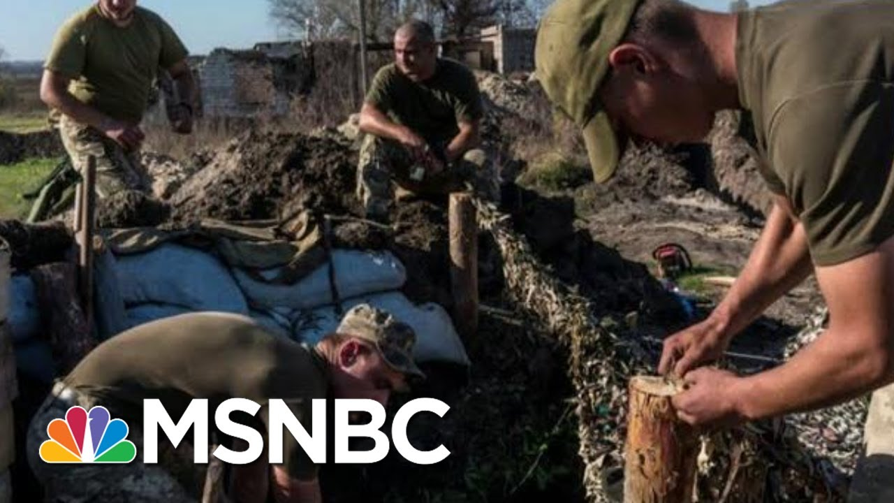 Amid Trump Impeachment, Ukraine Struggles To Fight Back Russian Aggression | The 11th Hour | MSNBC 8