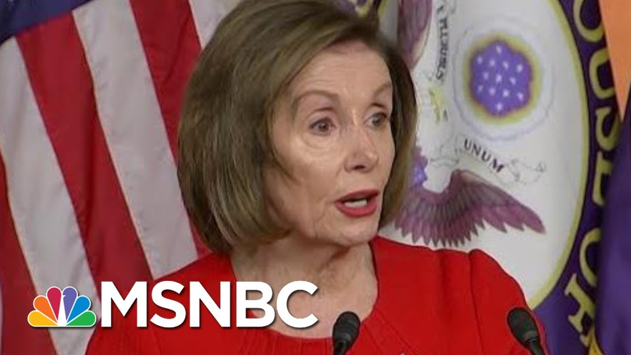 Nancy Pelosi Breaks Things Down For Everyone | Morning Joe | MSNBC 13