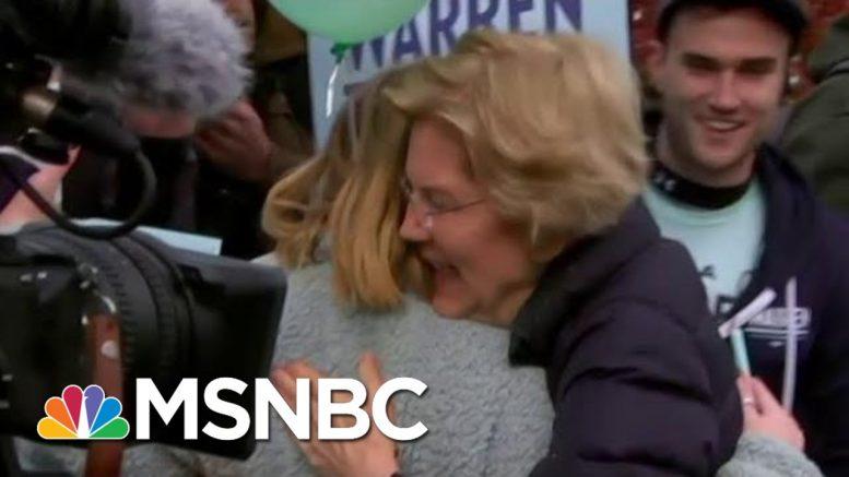 Warren Details Plan To Fund Medicare For All | Velshi & Ruhle | MSNBC 1