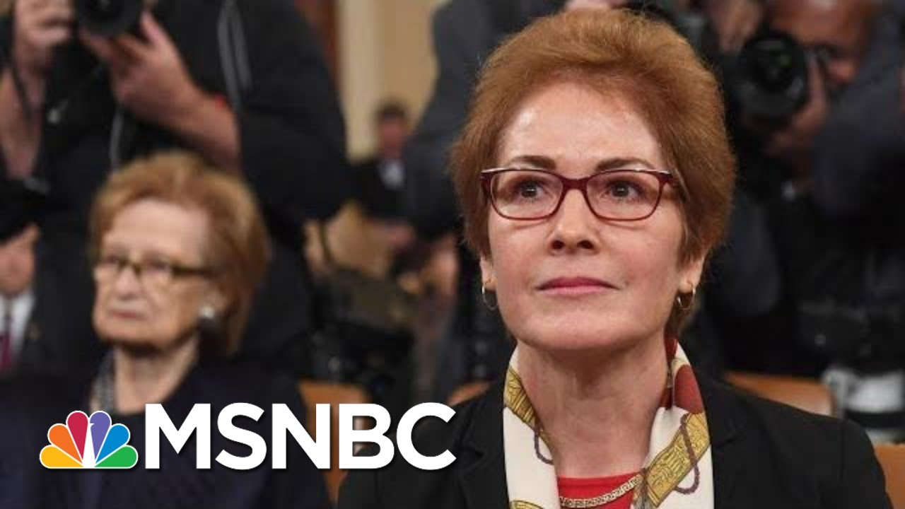 Yovanovitch Gives Dire Warning Of The Degradation Of The State Department Under Trump | MSNBC 2