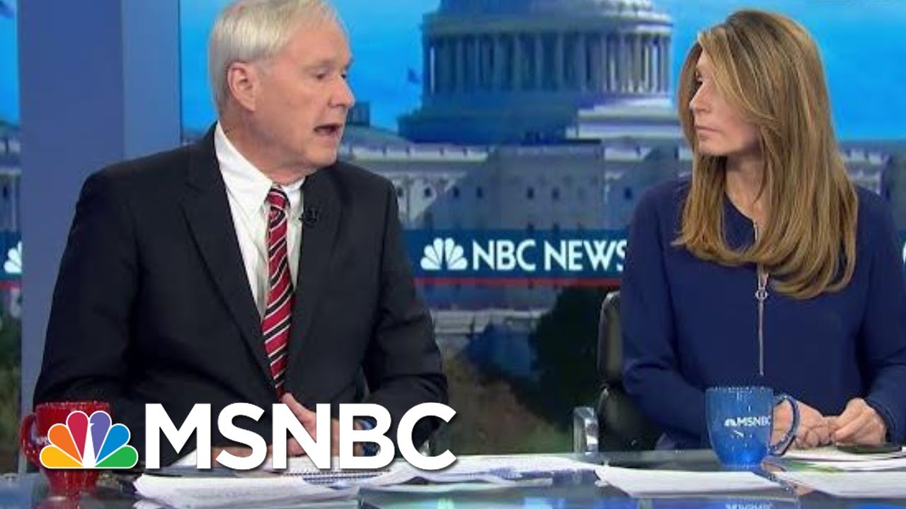 Wallace: This Was 'Real-Time Witness Tampering And Intimidation' By The President | MSNBC 10