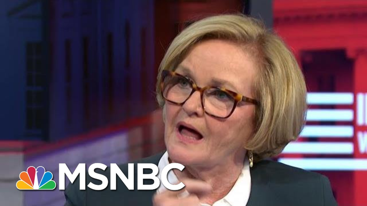 Sen. McCaskill: I Am So Proud Of This Woman And What She Has Given | MSNBC 4