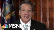 Gov. Cuomo On Trump's New Florida Residency: 'Good Riddance' | Velshi & Ruhle | MSNBC 2