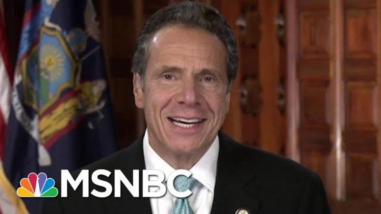 Gov. Cuomo On Trump's New Florida Residency: 'Good Riddance' | Velshi & Ruhle | MSNBC 1