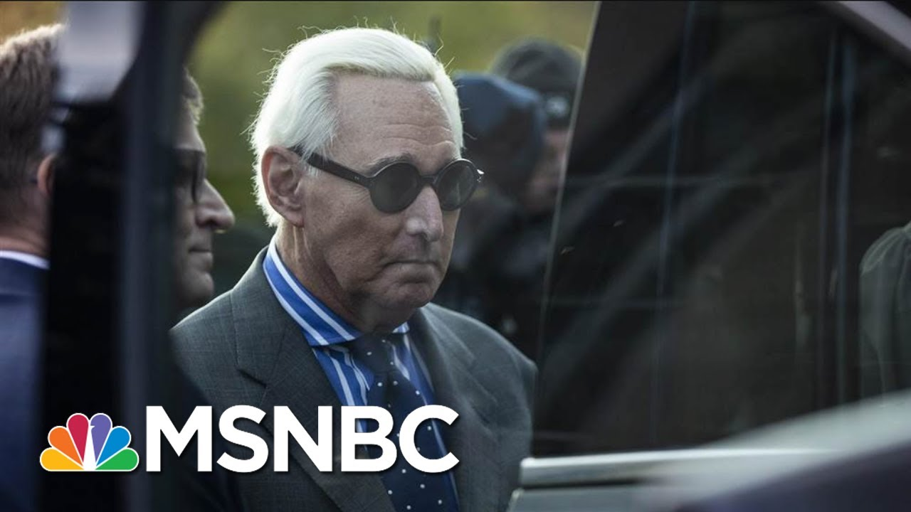 Trump Ally Roger Stone Found Guilty On All Counts | MSNBC 7