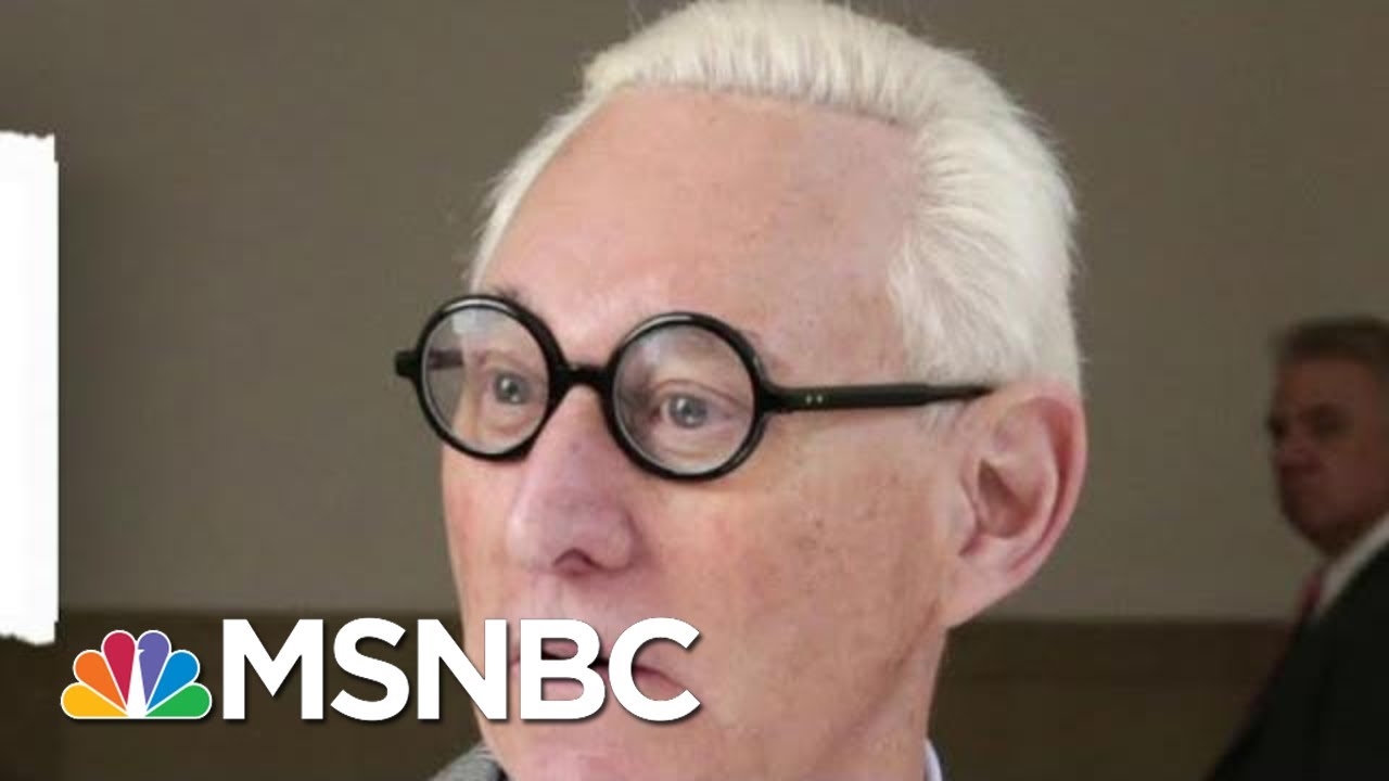 Longest-Serving Trump Adviser Roger Stone Found Guilty | The Beat With Ari Melber | MSNBC 4