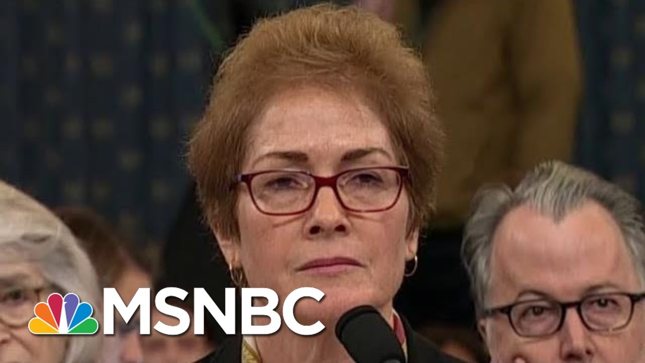 'Injurious': Trump Attacks Impeachment Witness During Testimony | The Beat With Ari Melber | MSNBC 10