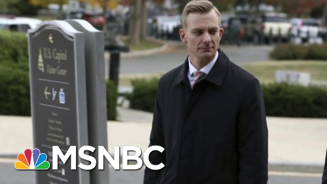 Rep. Eric Swalwell: Key New Impeachment Witness 'Person Of Integrity' | The Last Word | MSNBC 9
