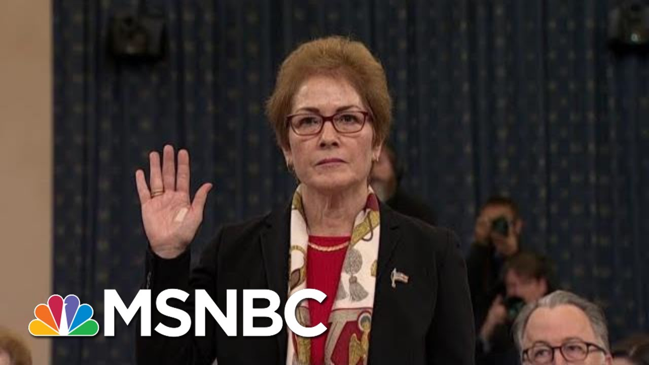 Tribe: Trump's Attacks On Marie Yovanovitch Are 'Witness Intimidation' | The Last Word | MSNBC 9