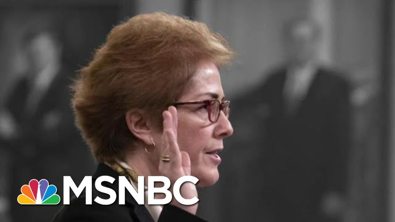 New Details Emerge After Marathon Impeachment Testimony | The 11th Hour | MSNBC 5