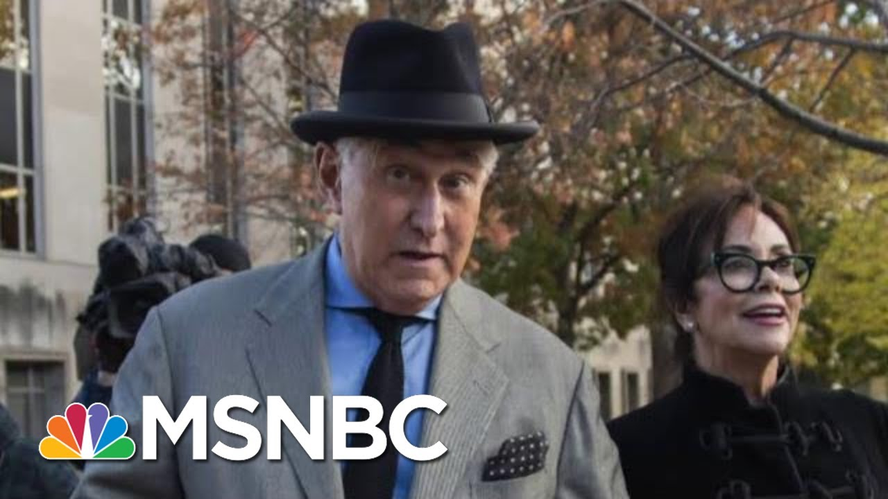 Longtime President Donald Trump Adviser Roger Stone Convicted | The 11th Hour | MSNBC 3