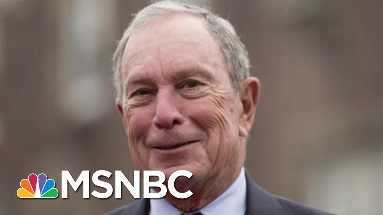 As He Eyes 2020 Run, Bloomberg Changes Course On Old Issue |  Morning Joe | MSNBC 9