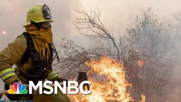 Climate Warning: California Continues To Burn, Data Estimates Of Global Flooding | MTP Daily | MSNBC 6