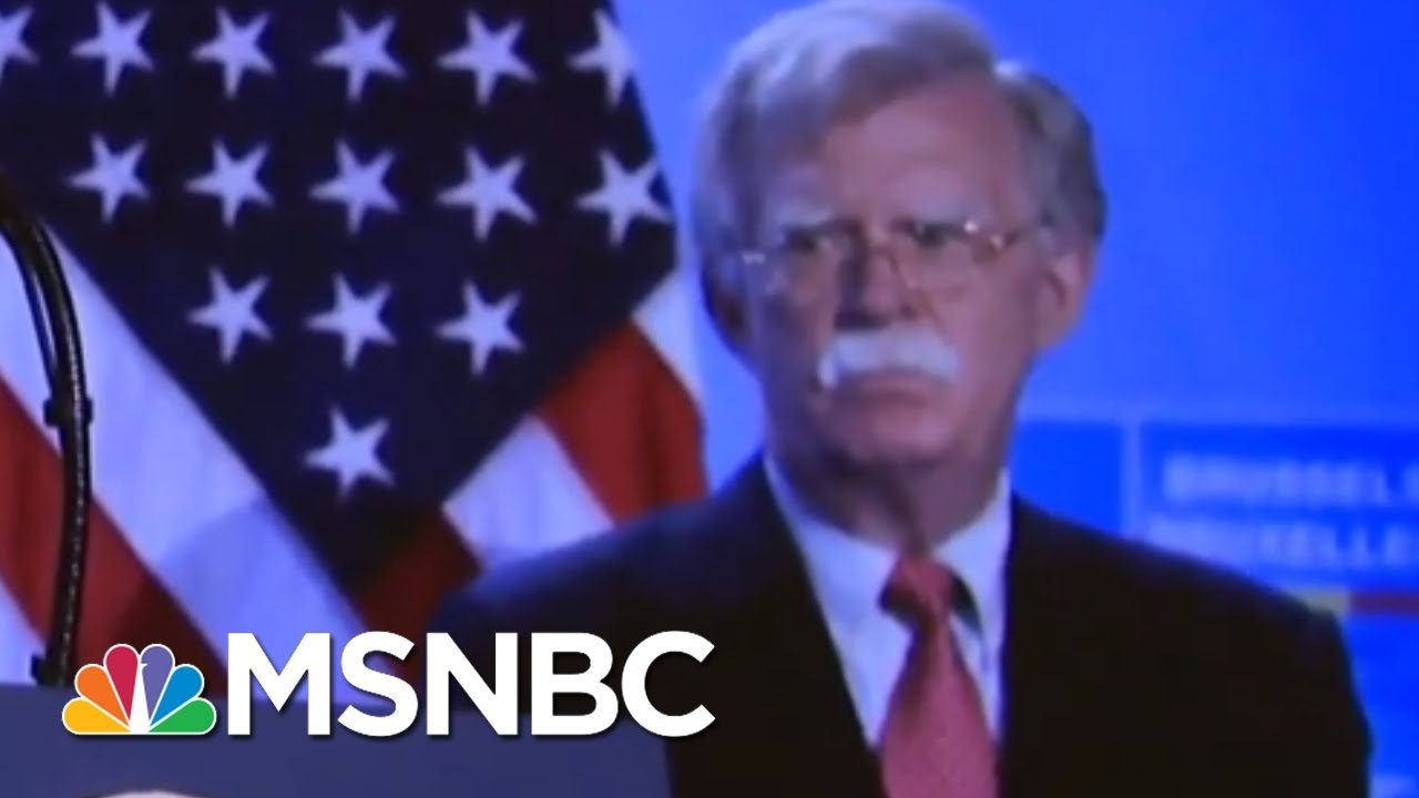 Bolton's Valiant Effort To Get Trump To Release Military Aid For Ukraine | Deadline | MSNBC 3