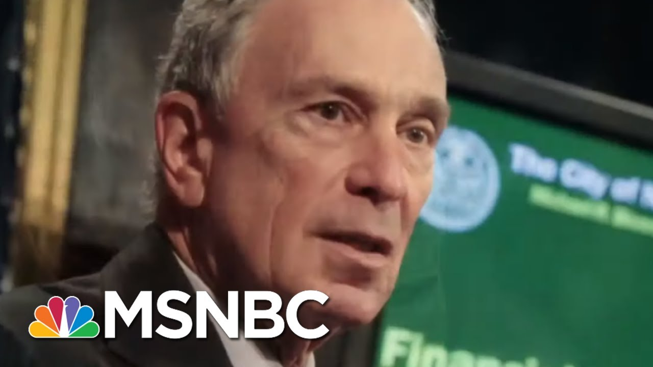 Ari Melber: Bloomberg Runs From Stop-And-Frisk After Profiling Millions | MSNBC 4