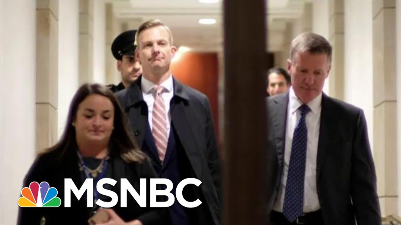 House Intel Member: Deposition Proves Trump 'Doesn't Care' About Ukraine | The Last Word | MSNBC 3