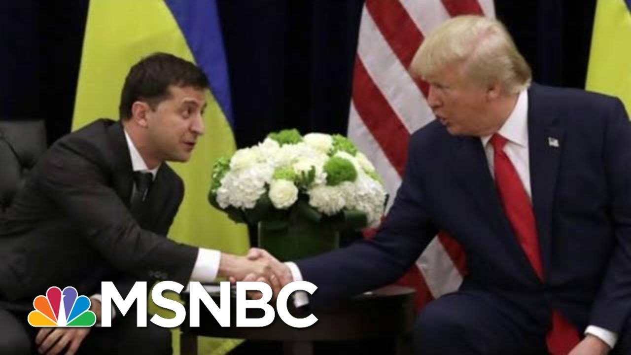 Ukraine Sought US Diplomats' Advice On Trump Pressure Tactics: AP | Rachel Maddow | MSNBC 5