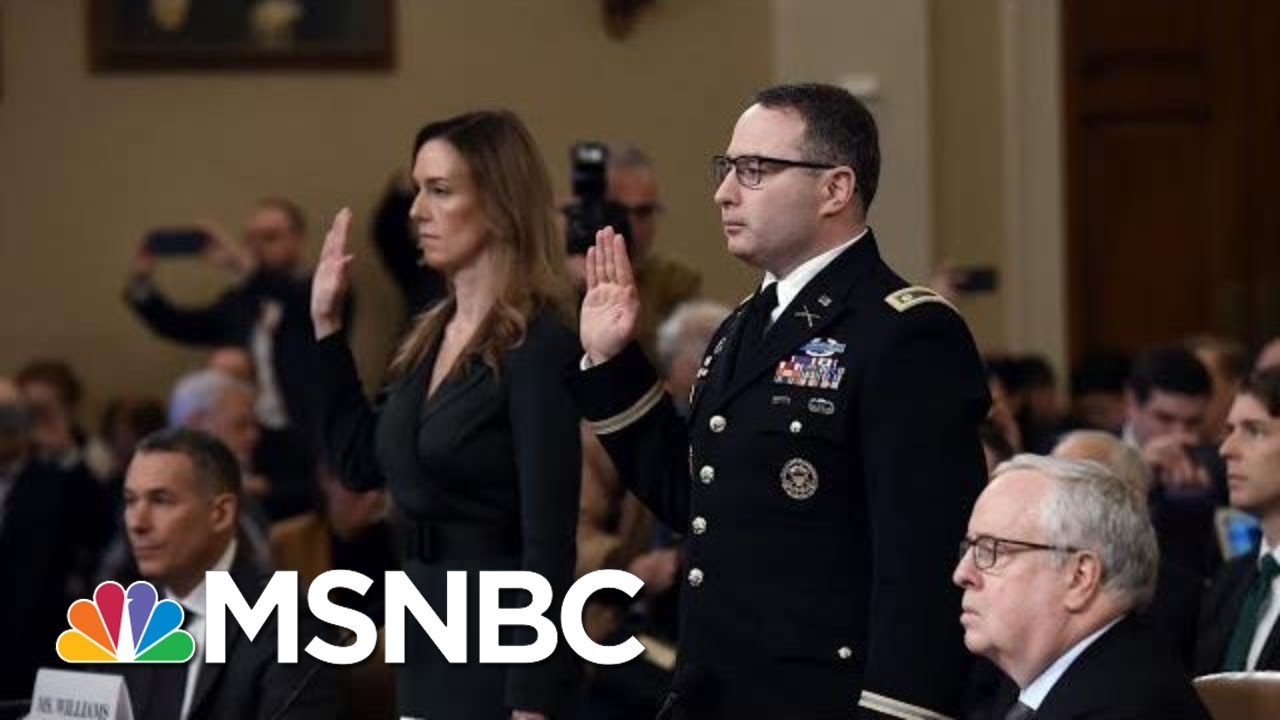 Nicolle: Two Public Servants Speak Truth To Power In Face Of Public Criticism From Trump | MSNBC 1