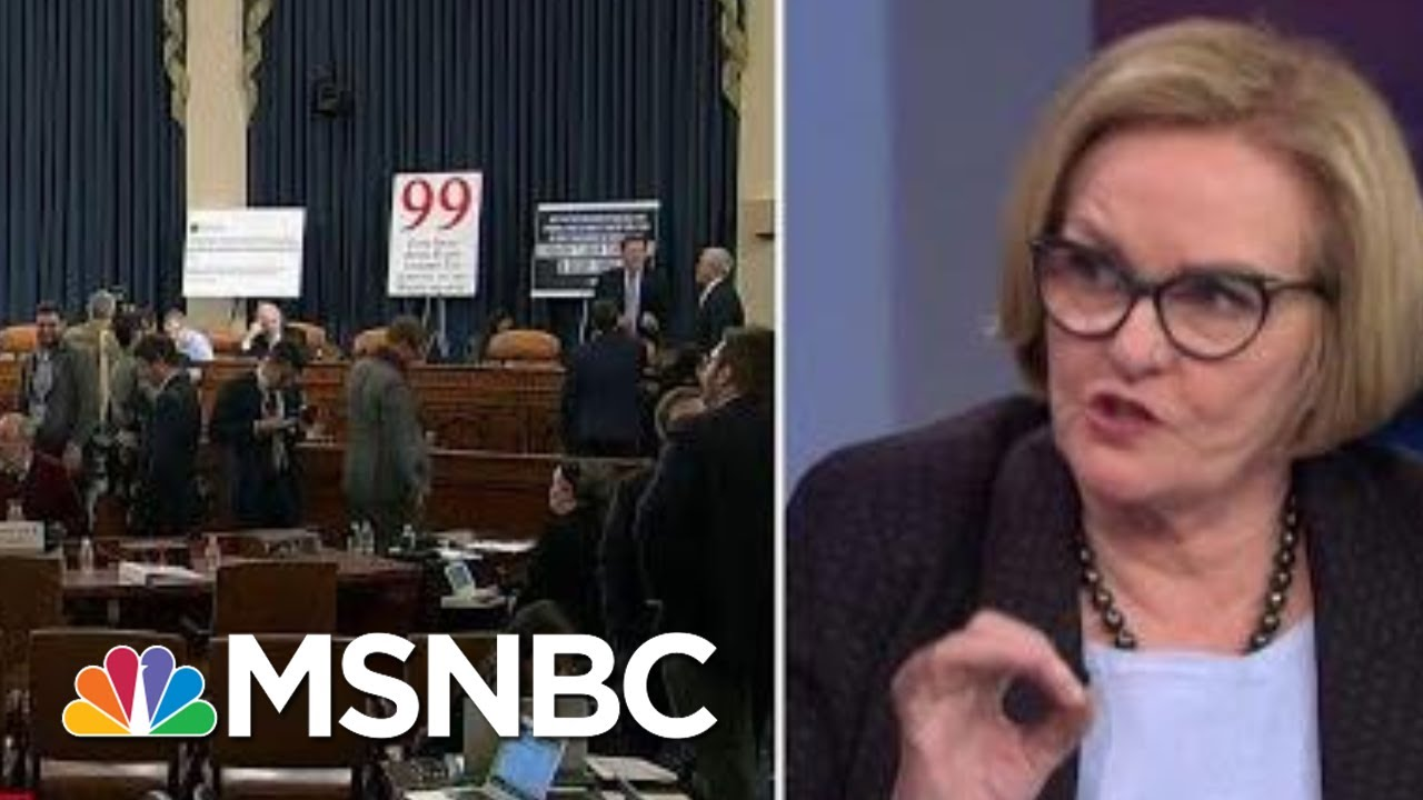McCaskill: 'Someone Needs To Check On Giuliani, There Are Tire Marks Over His Back' | MSNBC 6