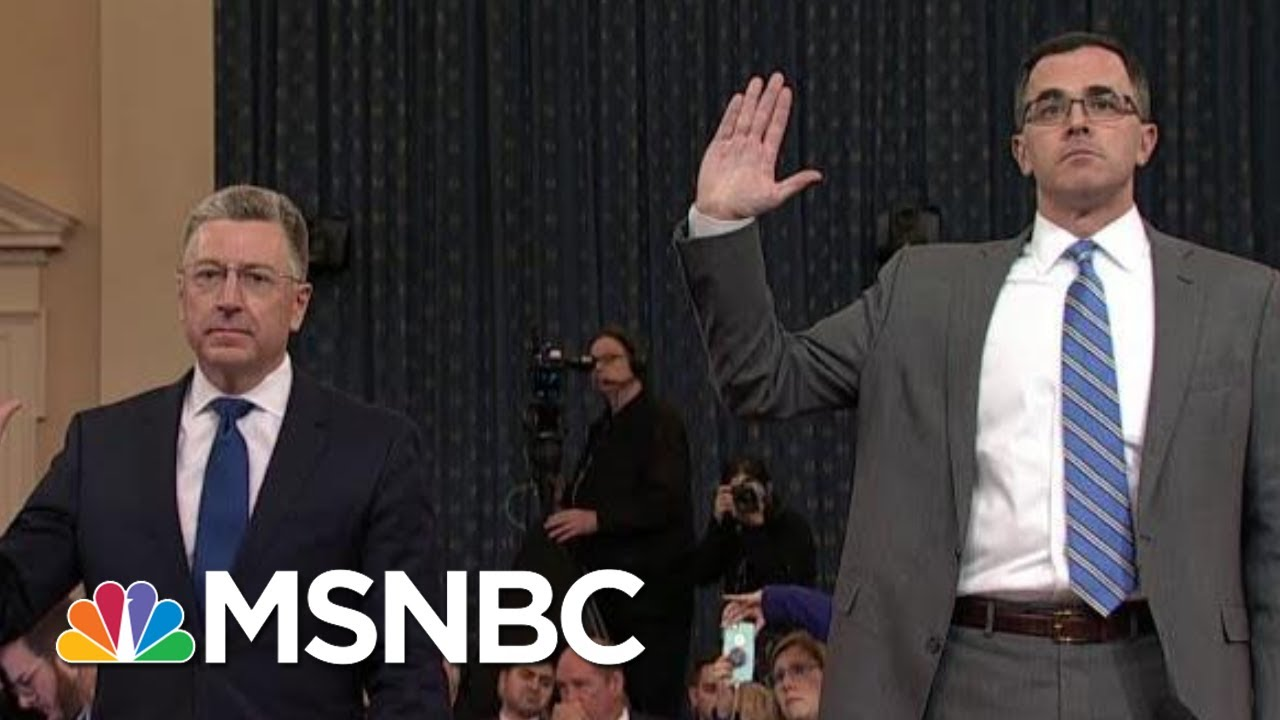 Republican Defenses Break Down During Impeachment Hearings | The Last Word | MSNBC 3