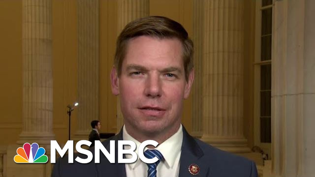 Rep. Eric Swalwell On 'Powerful' Testimony At Impeachment Hearings | All In | MSNBC 9