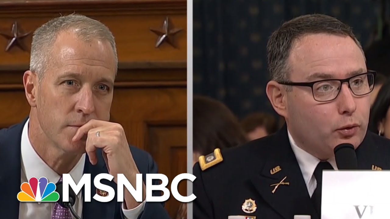 Impeachment Hearing Super Tuesday - Day That Was | MSNBC 3