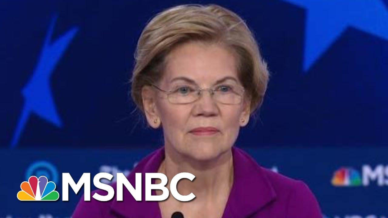 Warren, Klobuchar On Impeachment Support | MSNBC 1
