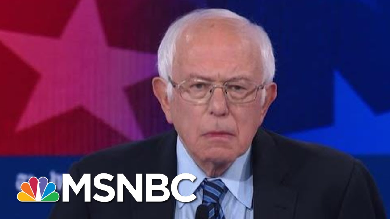 Sanders: 'Congress Can Walk And Chew Bubblegum At The Same Time' | MSNBC 12