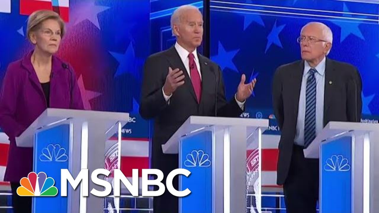 Joe Biden: 'Trump Doesn't Want Me To Be The Nominee' |  MSNBC 3