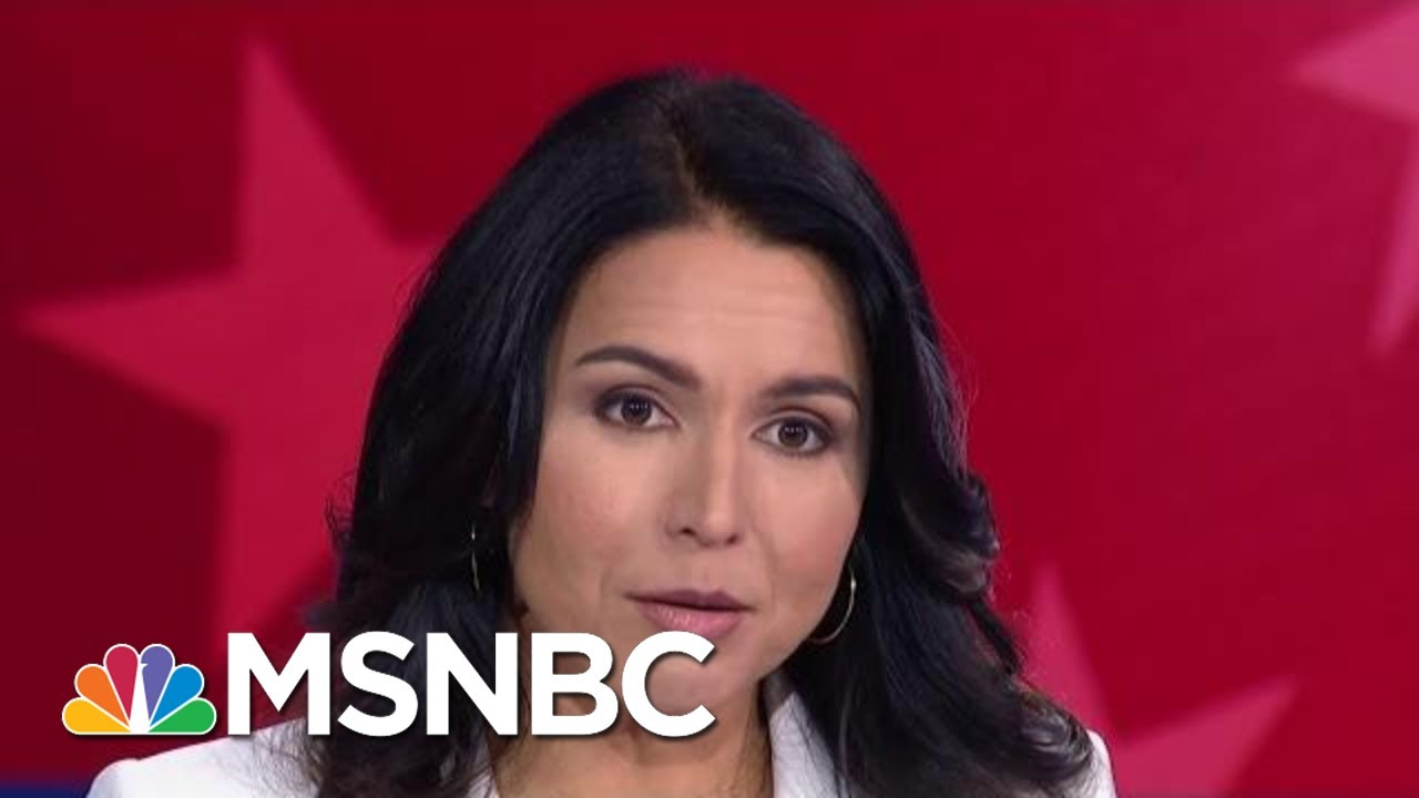 Tulsi Gabbard: 'Hyper-Partisanship' Has Blocked Progress On Climate Change | MSNBC 7