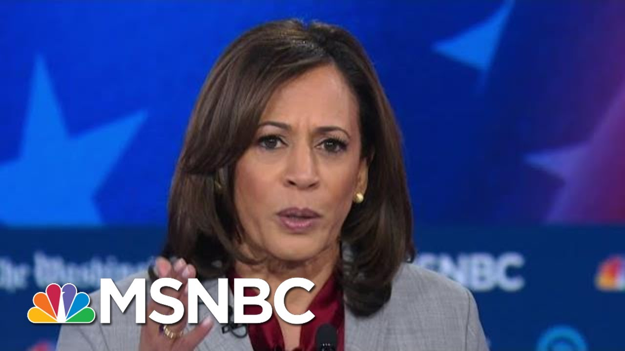 Senator Kamala Harris: Candidates Have 'Overlooked' Constituencies Such As Black Voters | MSNBC 9