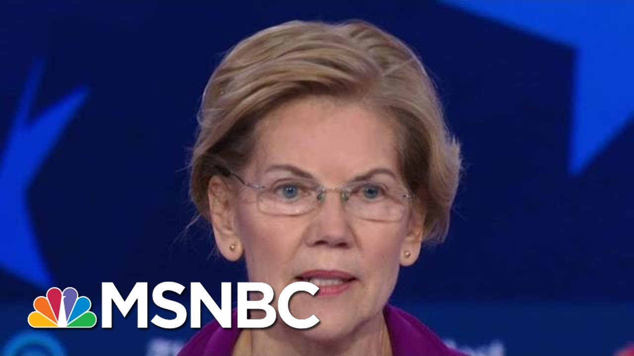 Senator Elizabeth Warren: 'Abortion Rights Are Human Rights' And 'Economic Rights' | MSNBC 4