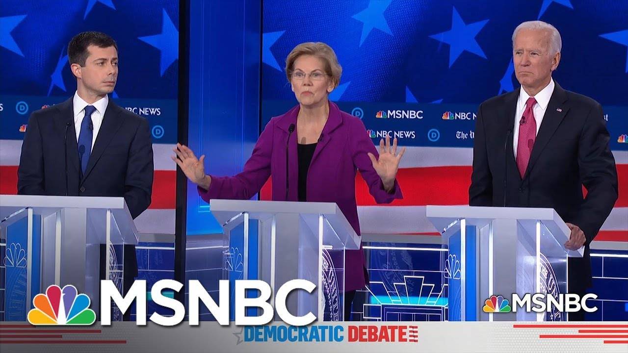 Women's Issues Take Center Stage At Democratic Debate | MSNBC 10