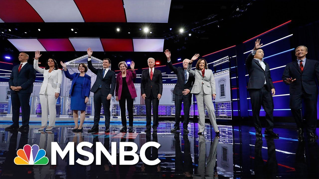 Watch The Democratic Debate In Less Than 4 Minutes | MSNBC 5