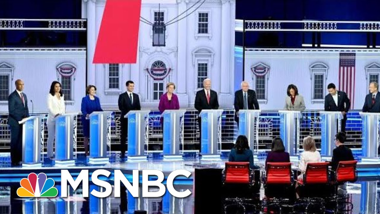 Top Moments From The MSNBC/Washington Post Debate | The 11th Hour | MSNBC 6