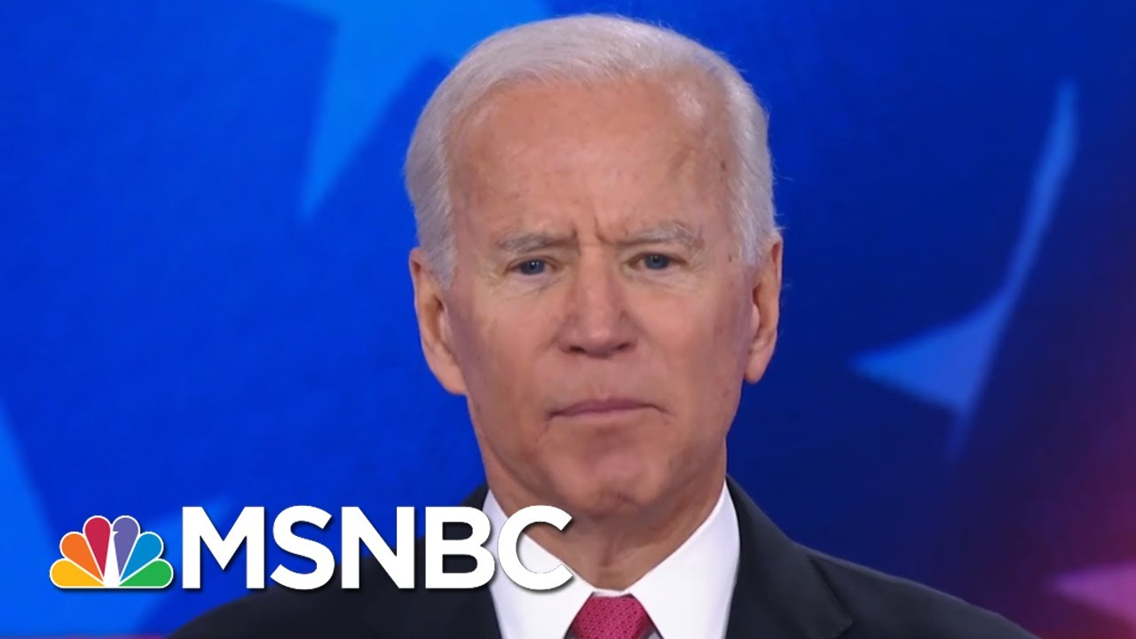 Booker To Biden On Not Legalizing Marijuana: 'I Thought You Might Have Been High' | MSNBC 3