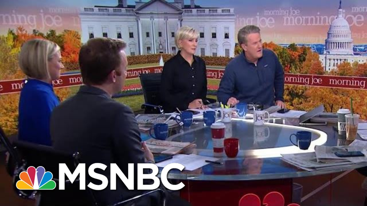 Joe: Wednesday Was Sad And Depressing To Watch | Morning Joe | MSNBC 3
