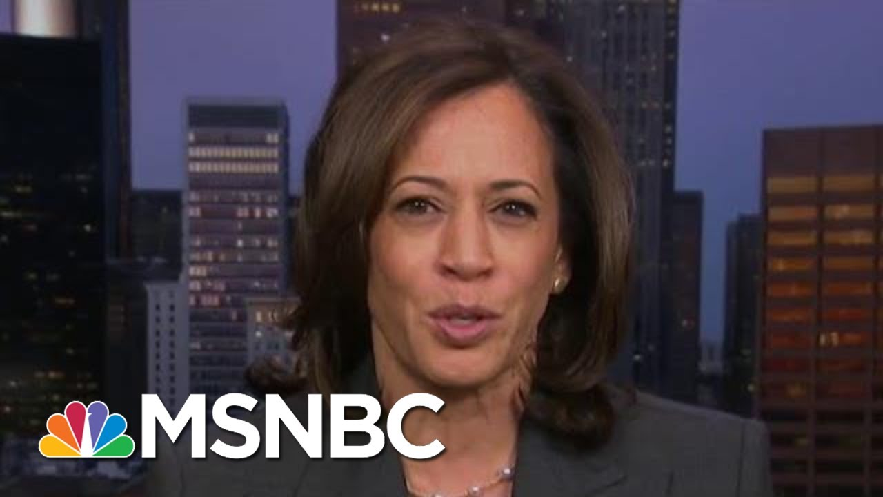 'This Is Not Right': Sen. Harris On 'Abuse Of Power' | Morning Joe | MSNBC 7