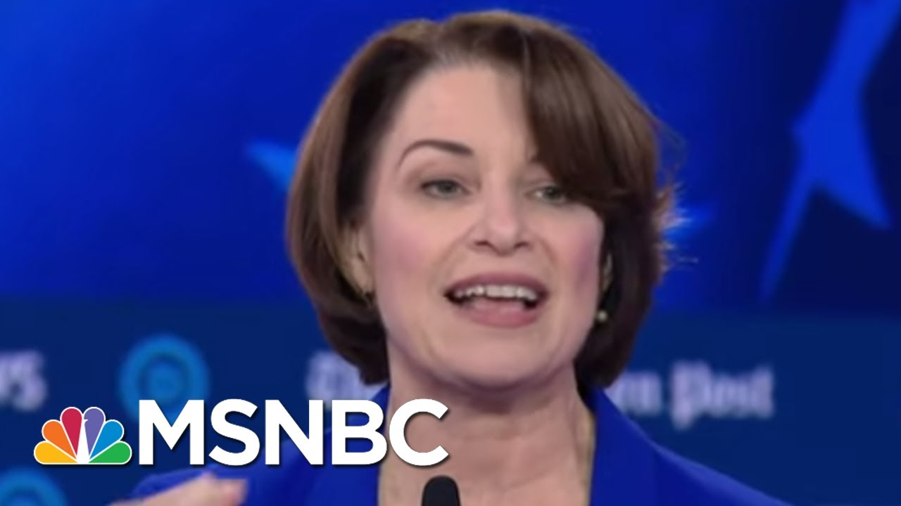 Klobuchar: Women Are Held To A Higher Standard | MSNBC 7