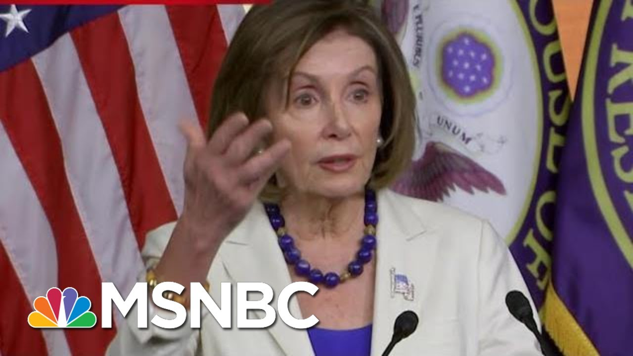 Nancy Pelosi: Evidence Is Clear That President Donald Trump Undermined National Security | MSNBC 2