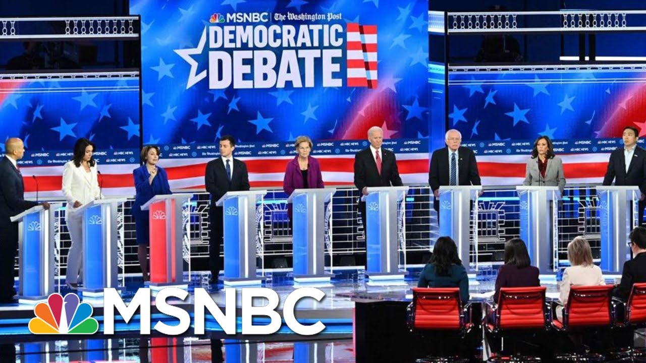 Watch: Full MSNBC & Washington Post Democratic Debate - November 20, 2019 | MSNBC 1