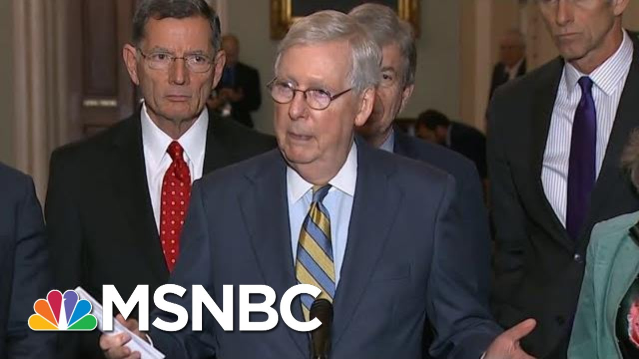 Republicans Dodge Questions About Substance Of Trump's Ukraine Misconduct   The Last Word   MSNBC 1