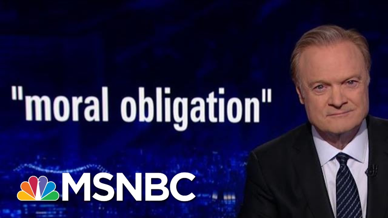 Impeachment Witnesses Felt 'Moral Obligation' To Testify In Investigation | The Last Word | MSNBC 2