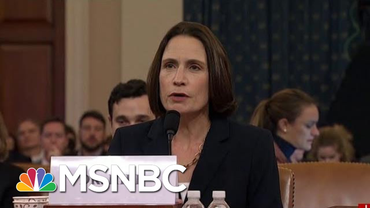 'Fiona Hill Is President Donald Trump's Worst Nightmare' | Morning Joe | MSNBC 6