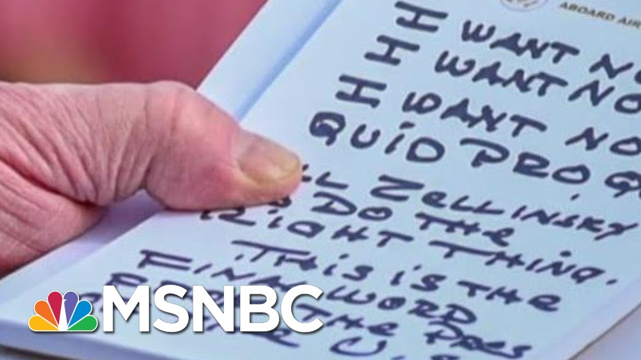 'Trump's Nightmare': See The New Bribery Receipts Fueling Impeachment | MSNBC 2