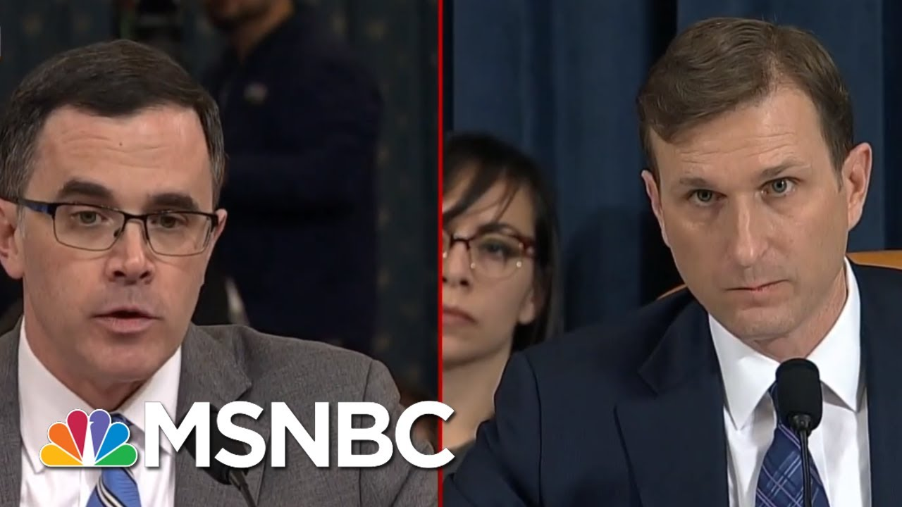 What's Next In The Impeachment Proceedings | Deadline | MSNBC 9